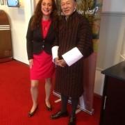 Bertine ontmoet Jigmi Thinley