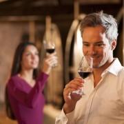 Kijken naar de wijn