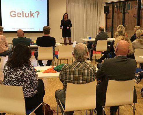 Bertine Blom spreker werkgeluk
